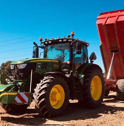 Tractor Incl. Grondkar