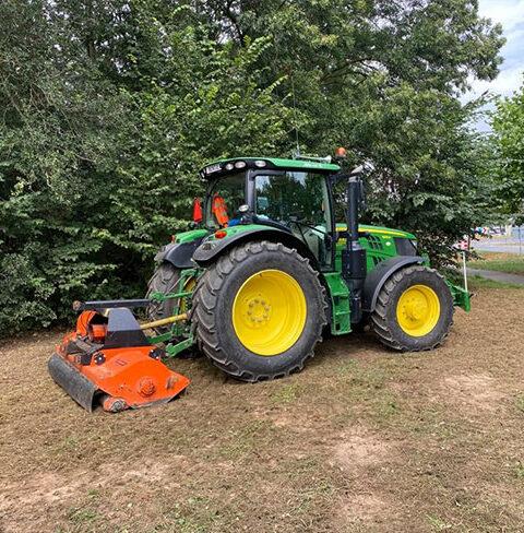 Tractor Incl. Klepelmaaier